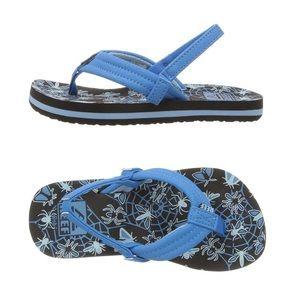 Reef Boy's Ahi Glow Blue Sandals - 7/8